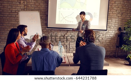 Business Presentation Stock Images RoyaltyFree Images  Vectors