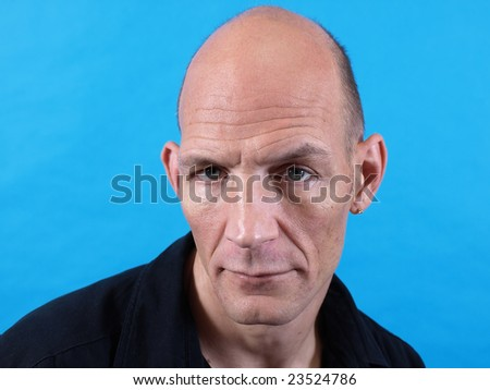 Male Stares - stock photo