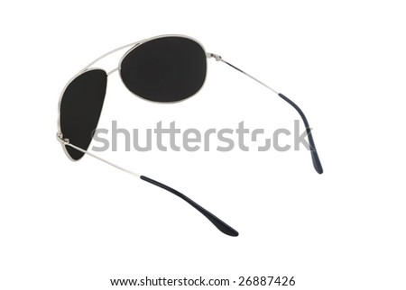 male sunglasses islolated on white 5