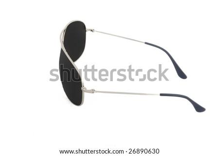 male sunglasses isolated 4 - stock photo