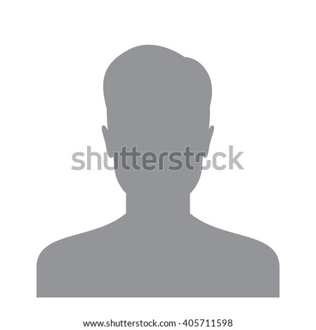Male Profile Picture Silhouette Profile Avatar Stock ...