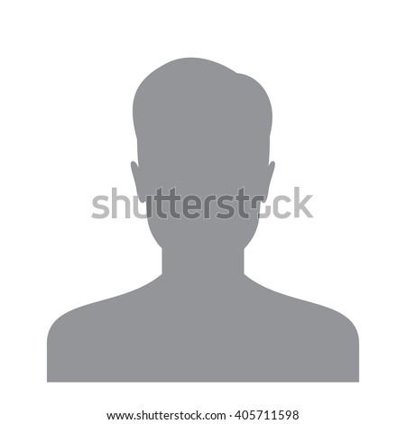 Male Profile Picture Silhouette Profile Avatar Stock ...
