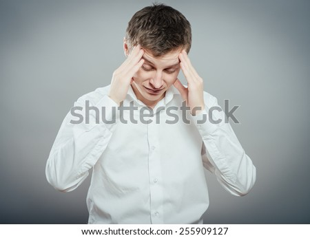 Males sore headache