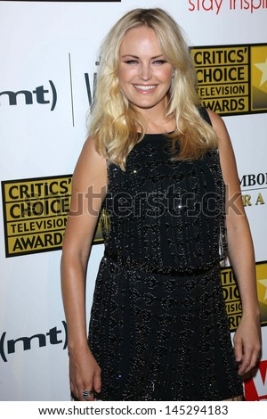 Malin Akerman at the 3rd Annual Critics' Choice Television Awards, Beverly Hilton Hotel, Beverly Hills, CA 06-10-13