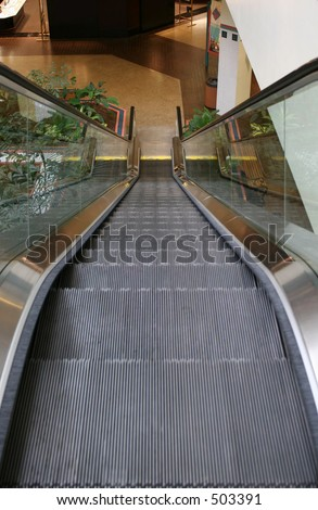 Mall escalader