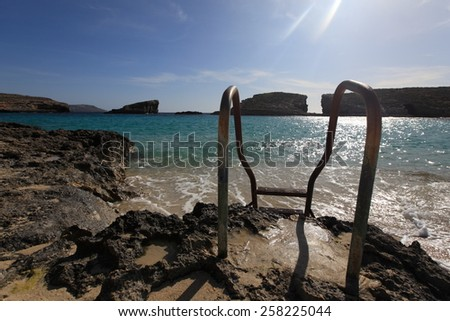 Malta, Mediterranean Sea - stock photo