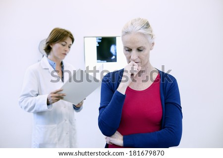 Mammography Result - stock photo