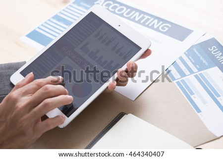 Man Analysis Business Accounting