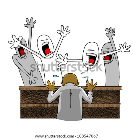 Angry Mob Stock Images, Royalty-Free Images & Vectors | Shutterstock