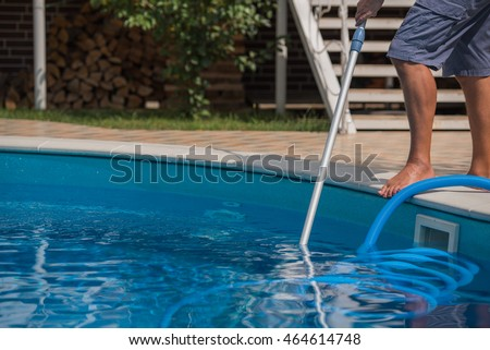 Dirty guy stock photos royalty free images vectors - How to clean a dirty swimming pool ...