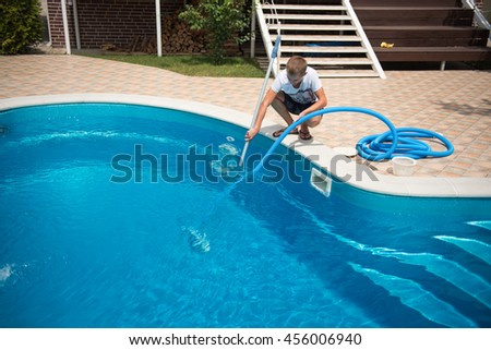 Dirty pool stock images royalty free images vectors - How to clean a dirty swimming pool ...