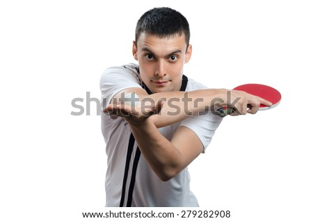 man hand in ball