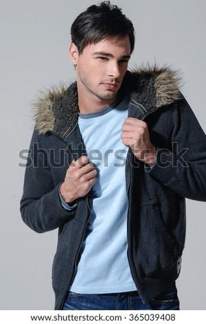 Man in fashion - stock photo