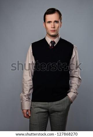 Man Vest Stock Images, Royalty-Free Images & Vectors | Shutterstock