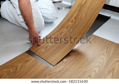 Vinyl flooring stock images royalty free images vectors shutterstock - Parquet pvc autocollant ...
