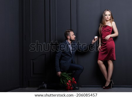 Make A Marriage Proposal Stock Images Royalty Free Images Vectors