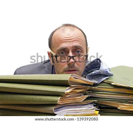 man making a burnout over a pile of folders