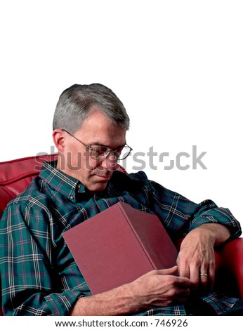 Man napping - stock photo