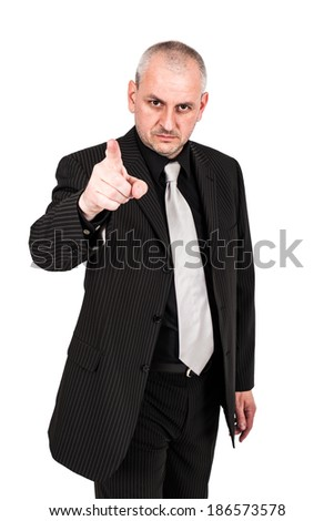 Man posing in a suit