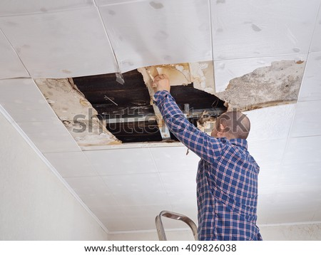 Broken Roof Stock Images Royalty Free Images Amp Vectors