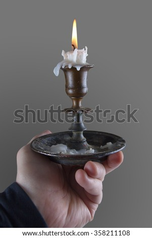 Holding Candle Stock Images Royalty Free Images Amp Vectors