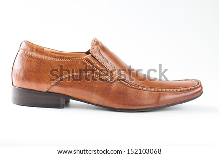 man shoes - stock photo