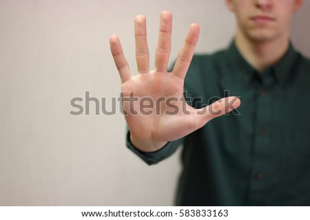 Stop Hand Stock Images, Royalty-Free Images & Vectors ...