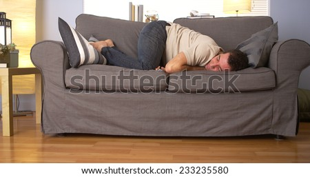 uncomfortable couch. Exellent Uncomfortable Man Trying To Sleep On Couch And Uncomfortable Couch O