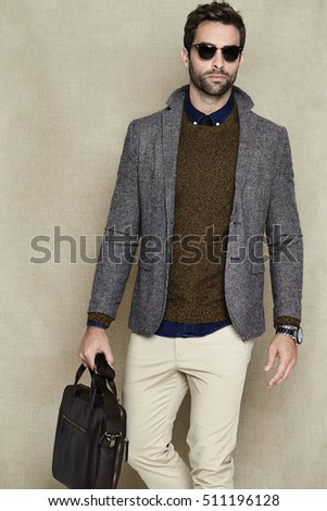 Man Bag Stock Images, Royalty-Free Images & Vectors | Shutterstock
