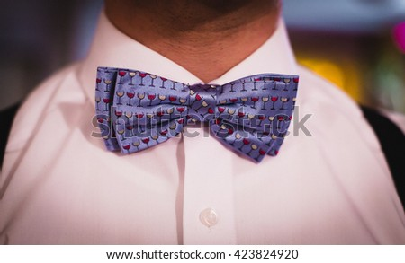 Man with bow-tie