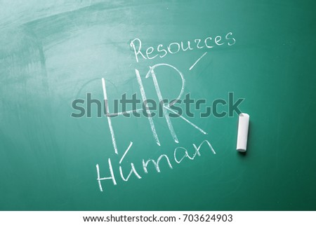 Management abbreviation hr full form written stock photo royalty management abbreviation hr with its full form written on chalk board thecheapjerseys Gallery
