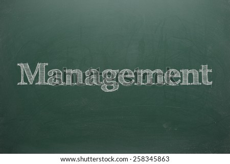 Management on Green Board