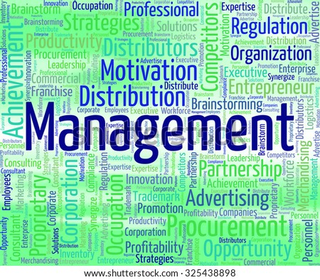 Management Word Meaning Head Managing And Directors