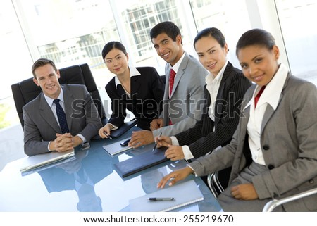 Managers meeting - stock photo