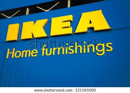 MANCHESTER-DEC 11: IKEA Manchester Store on Dec. 11, 2012 ...