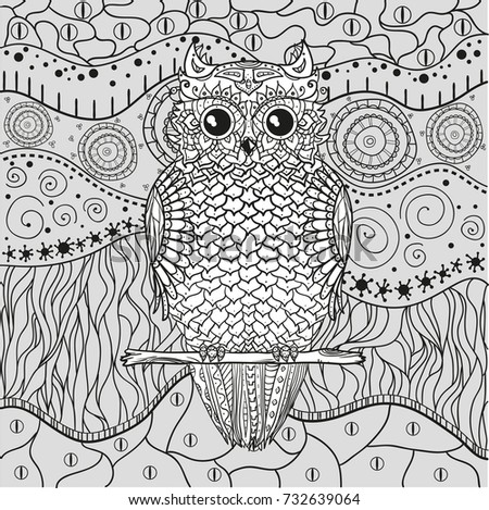 aztec owl coloring pages - photo#20