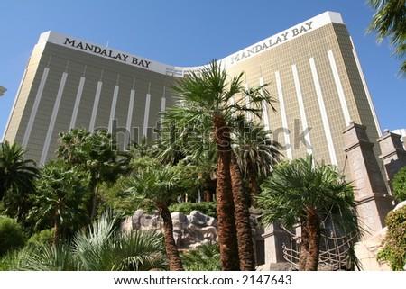 Mandalay Bay hotel in Las Vegas, NV - stock photo
