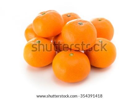mandarin orange - stock photo