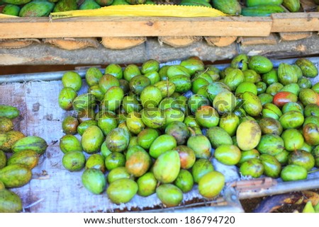 Mango Fruit shop in Sri Lanka