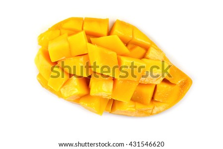 mango isolate on white background