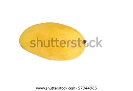 mango isolated on white - stock photo