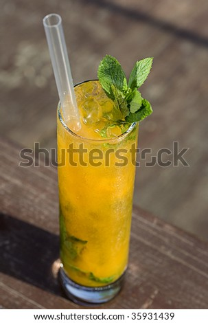 mango passion fruit cocktail