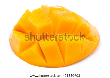 mango slice up