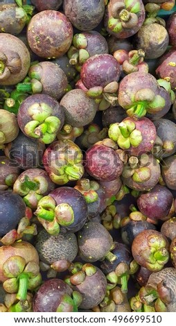 mangosteen fruit from asia