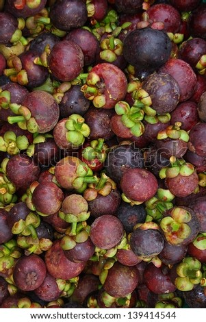 Mangosteen is the Queen of Fruits.