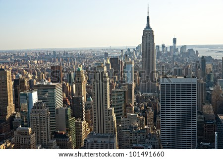 Manhattan, New York City. USA. - stock photo