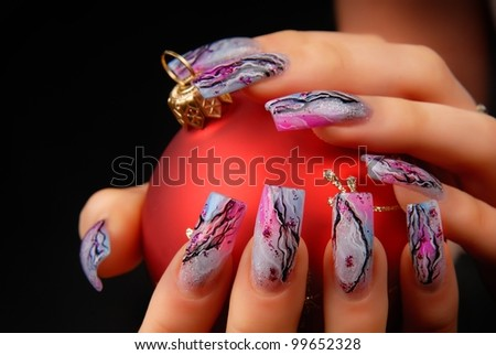manicures - stock photo