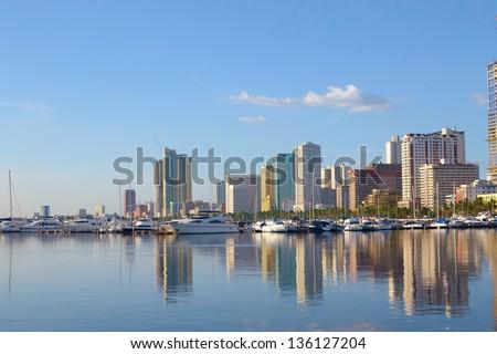City of Manila Philippines Manila Bay Philippines City