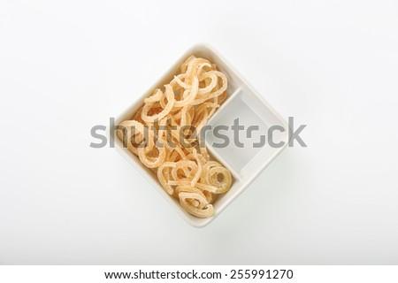 Manisan pala snack form nutmeg fruit - stock photo