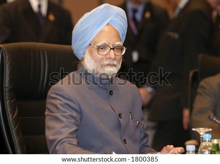 Manmohan Singh_5993 - stock photo